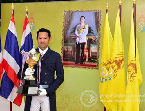 "GOLDEN HORSE คว้าแชมป์ถ้วยพระราชทานสมเด็จพระเจ้าอยู่หัวมหาวชิราลงกรณ บดินทรเทพยวรางกูร ในรายการ ""King's Cup Thailand Championship 2019"""